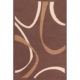 Curve Rugs In Brown By Rugstyle