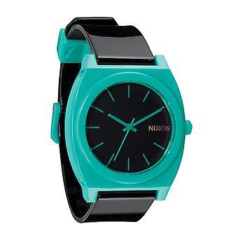 Nixon Time Teller P Black Teal Uhr (A119060)