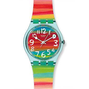 Färgrutefärg Sky Uhr (GS124)