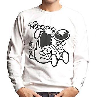 Grimmy Crazy Birthday Boy Men's Sweatshirt