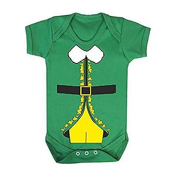 Elf buddy costume babygrow
