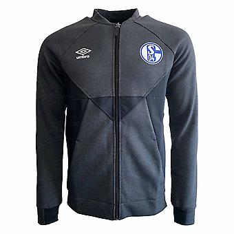 2019-2020 Schalke Umbro Presentation Jacket (Black)