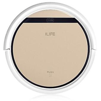 ILife v5s Pro robot støvsuger IR fjernbetjening anti-kollision smart robot Sweeper for Home Gold (EU standard)