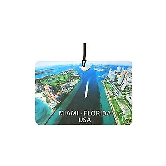 Miami - Florida - USA Car Air Freshener