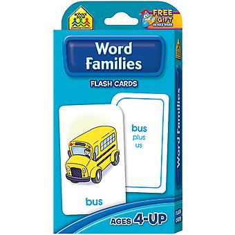 Flash Cards Word Families 54 Pkg Szflc 4015
