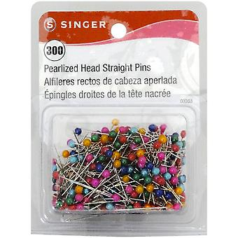 Pearlized Head Straight Pins Size 24 300 Pkg 363