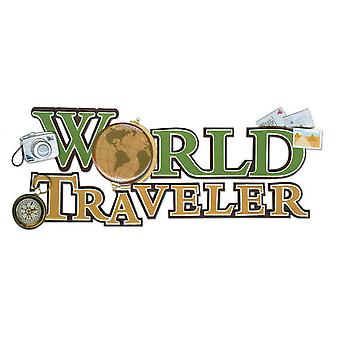 Jolee's Boutique Title Wave Stickers World Traveler Spjt 110