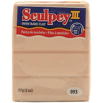 Sculpey Iii Polymer Clay 2 Ounces Beige S302 093