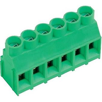 Screw terminal 4.00 mm² Number of pins 8 AKZ840/8-6.35-V PTR Green 1 pc(s)