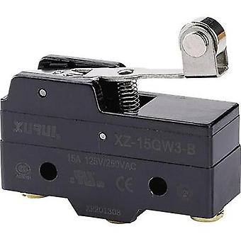 Microswitch 250 Vac 15 A 1 x On/(On) XZ-15GW3-B momentary 1 pc(s)