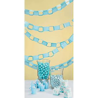Baby Favorites Paper Chain Strips 72pcs-Blue 1405-210