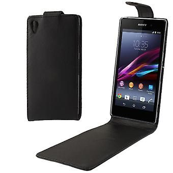 Mobile Shell Flip case for Sony Xperia Z1 L39h black