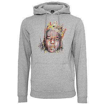 Mister Tee Hoody - SKETCH heather grau