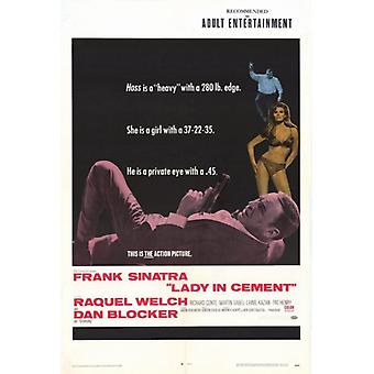 Lady in Cement Movie Poster Print (27 x 40)