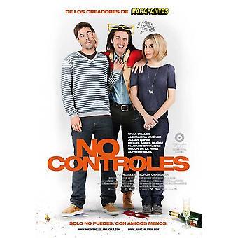 Ingen controles film plakat (11 x 17)