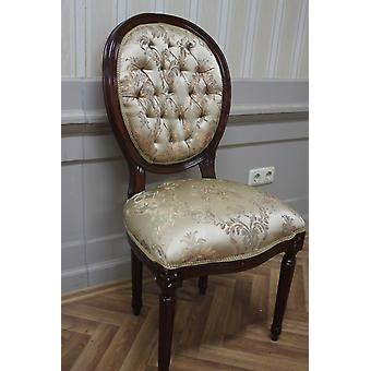 Antique dining chair, wood, MkCh0078