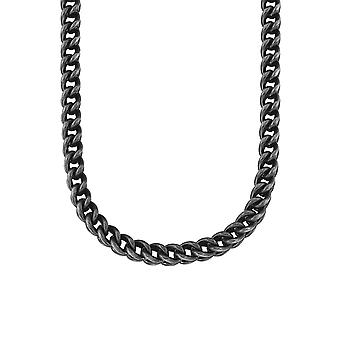 s.Oliver jewel mens chain curb chain stainless steel grey 2015065