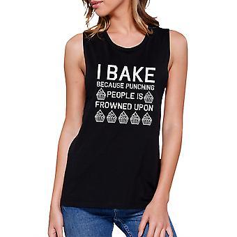 أنا خبز لأن المرأة السوداء العضلات أعلى الدبابة أسعار الخبز مضحك
