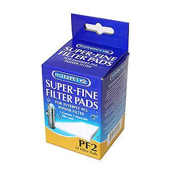 Super fint Filter puder til Pf 2 5pack
