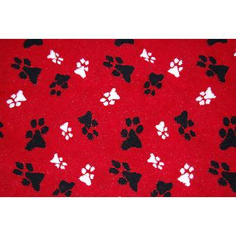 Fleece Blanket Red Small 74x61cm (29x24