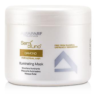 AlfaParf Semi Di Lino Diamond Illuminating Mask (For Normal Hair) 500ml/16.9oz