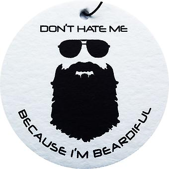 Beardiful - Black Car Air Freshener