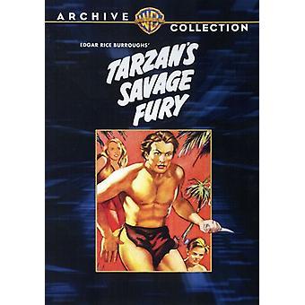 Tarzan's Savage Fury [DVD] USA import