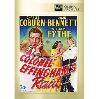 Colonel Effinghams Raid [DVD] USA import