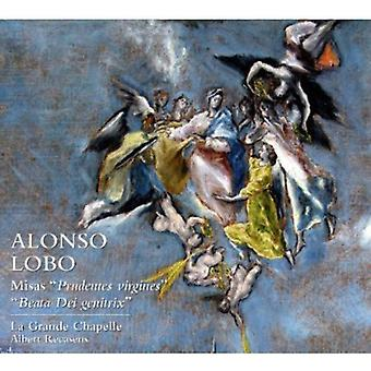 Alonso Lobo - Alonso Lobo: Misas Prudentes Virgines; Beata Dei Genitrix [CD] USA importerer