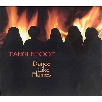 Tanglefoot - dans som flammer [CD] USA import