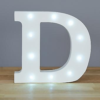 LED letter - Yesbox lights letter D