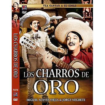 Los Charros De Oro [DVD] USA importerer