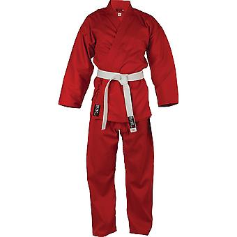 Blitz Sports Student Polycotton Karate Suit - Red