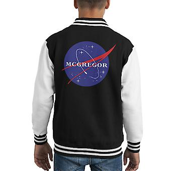Conor McGregor Nasa Kid's Varsity jacka