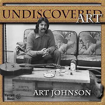 Art Johnson - uopdagede kunst [CD] USA import