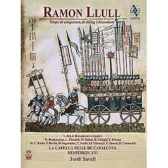 Llull / Savall, Jordi - tid af erobringer dialog & deconvolution [CD] USA import