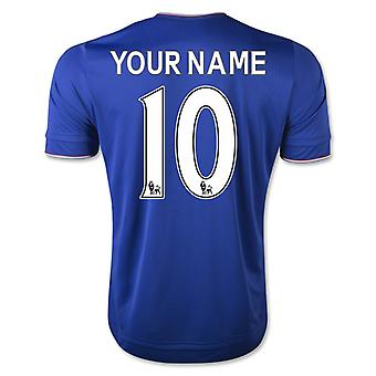 2015-16 Chelsea Home Shirt (Ihr Name)