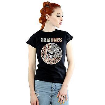 Ramones Women's Flag Seal T-Shirt