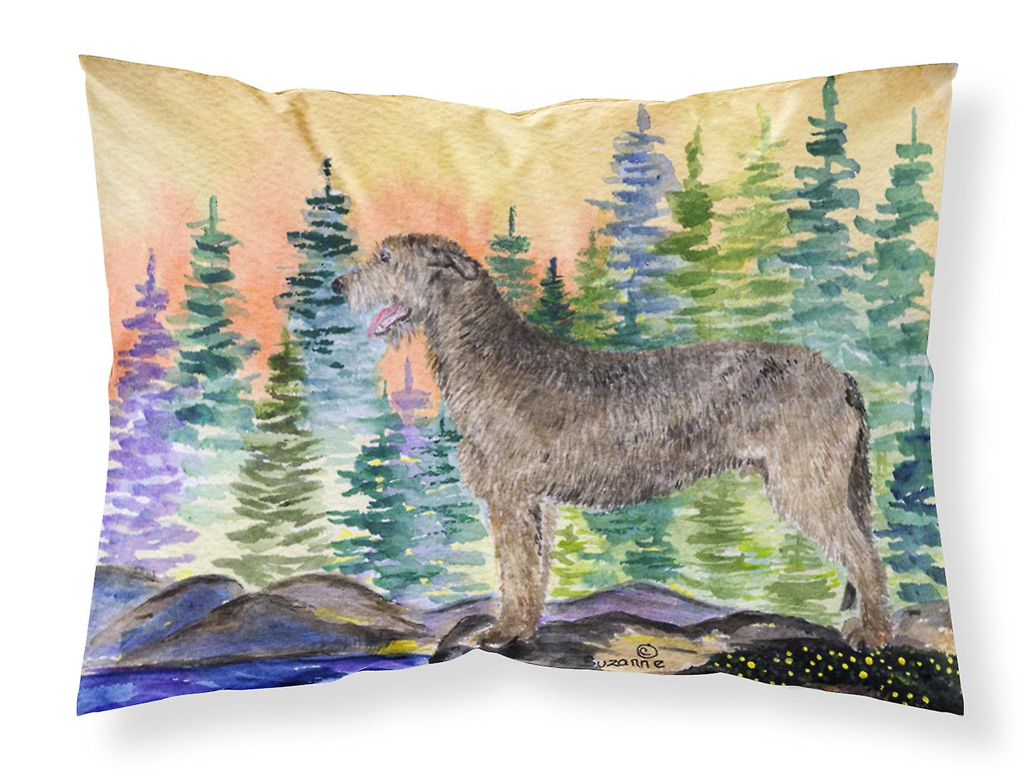Ss8205pillowcase Carolines Tissu Wicking St Trésors Irish Wolfhound Humidité XZikOPuwT