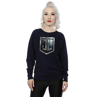 DC Comics kvinnors Justice League film sköld Sweatshirt