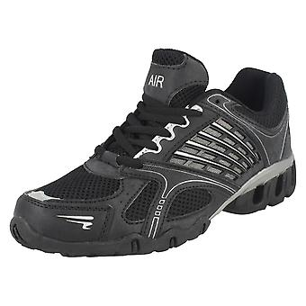Mens Airtech Lace Up Trainers Avanti