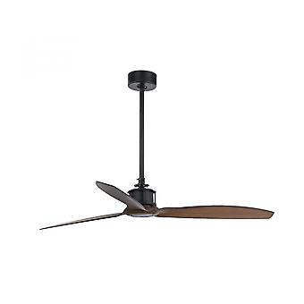 Faro energy-saving ceiling fan Just Fan black with remote control