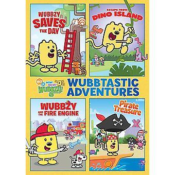 Wubbzy's Wubbtastic Adventures [DVD] USA import