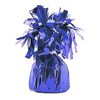 Hoja púrpura partido único borlas globo peso