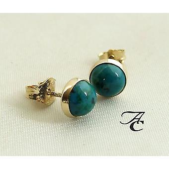 Gold Ohrringe mit Eilat