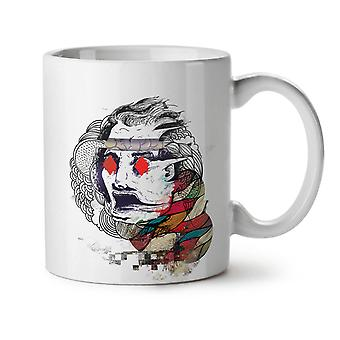 Diamond Eyes Poker nuevo té blanco taza de café de cerámica 11 oz | Wellcoda