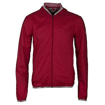 Pyrenex Tulipe Red Hooded Waterproof Hendrick Light Jacket