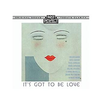 Det fik at være kærlighed: 20s, 30s & 40s elsker sange lyd CD Past Perfect