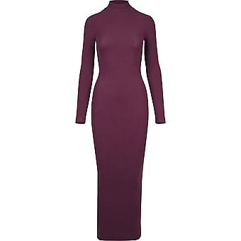 Urban classics ladies dress long Turtleneck