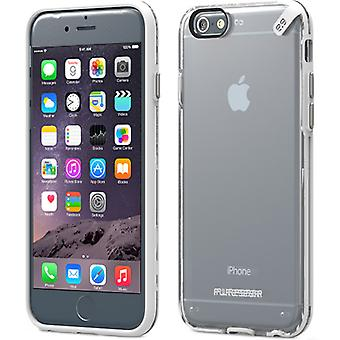 Apple iPhone 6 Plus PureGEAR Slim Shell Case - Clear and White